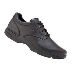 Apex Senior D Black Shoes